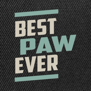 Best Paw Ever T-shirt - Snapback Cap