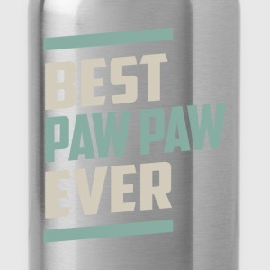 Best Paw Paw Ever T-shirt - Water Bottle