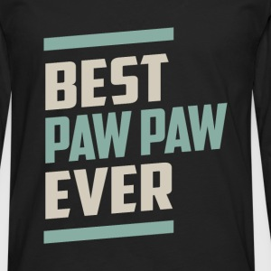 Best Paw Paw Ever T-shirt - Men's Premium Longsleeve Shirt