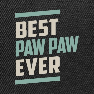 Best Paw Paw Ever T-shirt - Snapback Cap