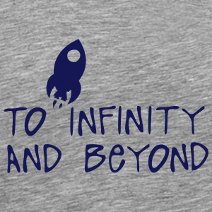 to infinity and beyond citation fuser Sports wear - Men's Premium T-Shirt