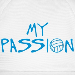volleyball waterpolo my passion quote Shirts - Baseball Cap