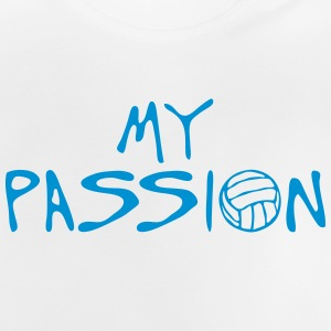 volleyball waterpolo my passion quote Shirts - Baby T-Shirt