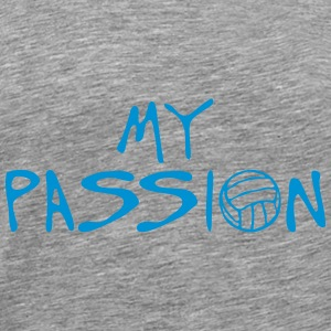 volleyball waterpolo my passion citation Débardeurs - T-shirt Premium Homme
