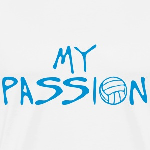 volleyball waterpolo my passion citation Tabliers - T-shirt Premium Homme