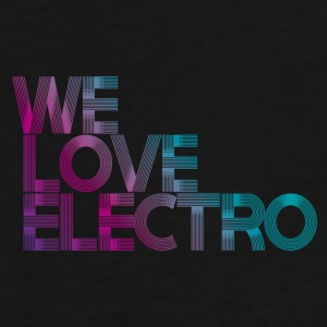 We love Electro CAP - Männer Premium T-Shirt