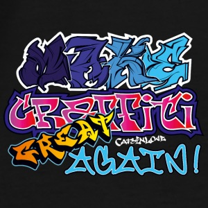 Make Graffiti Great Again Caps & Mützen - Männer Premium T-Shirt