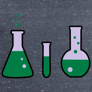 Laboratory flasks, science, chemistry (3 colors) Camisetas - Sudadera hombre de Stanley & Stella