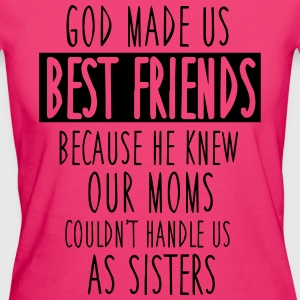 God made us best friends Tops - Women's Organic T-shirt