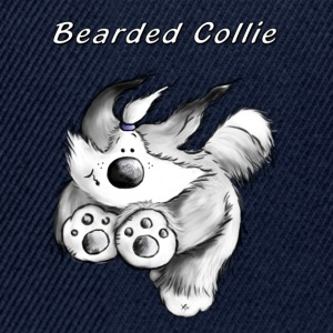 Kör Bearded Collie T-shirts - Snapbackkeps
