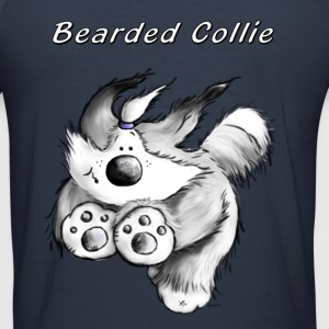 Hardlopen Bearded Collie Sweaters - slim fit T-shirt