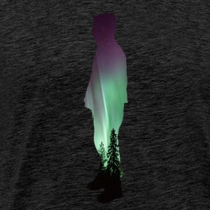 Northern Lights Dude - Männer Premium T-Shirt
