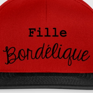 fille bordélique Tee shirts - Casquette snapback
