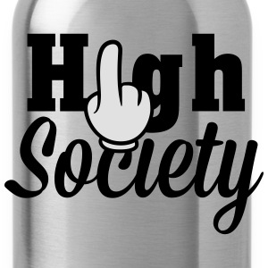 Achtung High Society T-shirts - Drikkeflaske