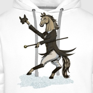 Horse Dressage Dancer T-Shirts - Men's Premium Hoodie