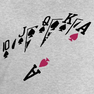 poker hand - Men's Sweatshirt by Stanley & Stella