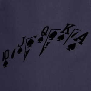 poker hand - Cooking Apron