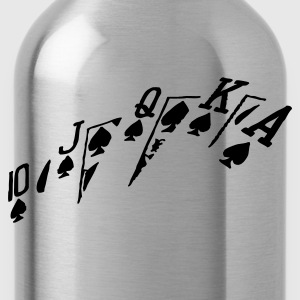 poker hand - Water Bottle