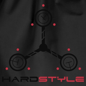 Hardstyle Tech Rave Quote T-shirts - Gymnastikpåse