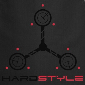 Hardstyle Tech Rave Quote T-shirts - Forklæde
