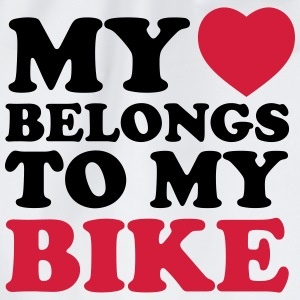 My heart belongs to my bike - Gymnastikpåse