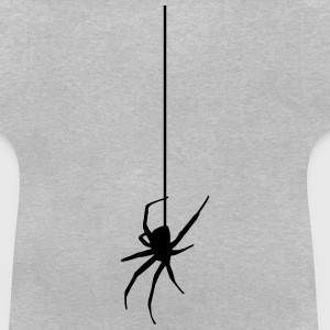 Spider on a thread Skjorter - Baby-T-skjorte