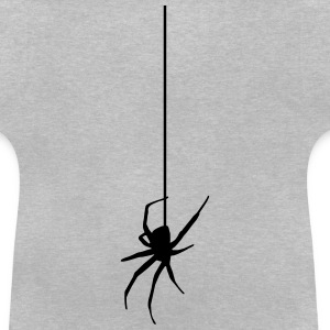 Spider on a thread T-shirts - Baby T-shirt