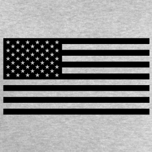 USA flag one colour - Sweatshirt herr från Stanley & Stella