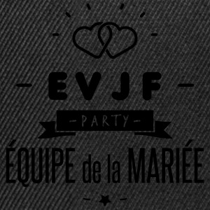 EVJF party Tee shirts - Casquette snapback