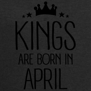 Kings Are Born In April Bouteilles et Tasses - Sweat-shirt Homme Stanley & Stella
