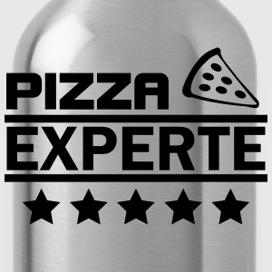 pizza experte T-Shirts - Trinkflasche