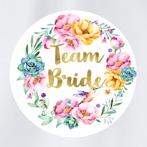team_bride_bouquet T-skjorter - Gymbag