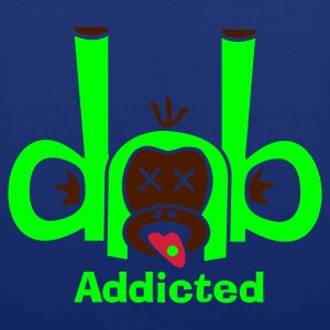 Navy DnB Addicted T-Shirts - Stoffbeutel