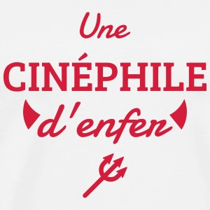 Cinema / Film Buff / Filmfan / Cinéphile / Kino  Aprons - Men's Premium T-Shirt