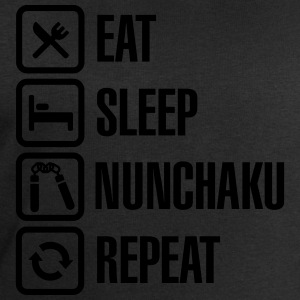Eat Sleep Nunchaku Repeat T-Shirts - Männer Sweatshirt von Stanley & Stella