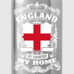 England - My country - My home Shirts - Water Bottle