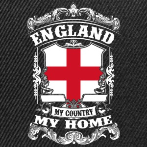England - My country - My home Shirts - Snapback Cap