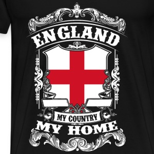 England - My country - My home Tops - Men's Premium T-Shirt