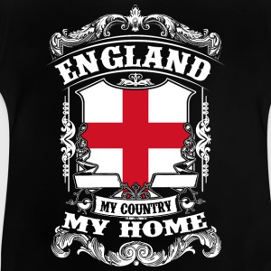 England - My country - My home Skjorter - Baby-T-skjorte