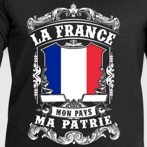 La France - Mon Pays - Ma Patrie Shirts - Men's Sweatshirt by Stanley & Stella