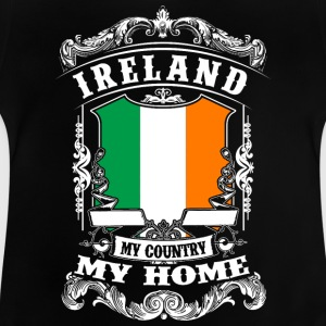 Ireland - My Country - My Home Langærmede shirts - Baby T-shirt