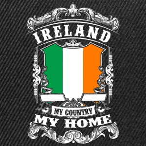 Ireland - My Country - My Home T-Shirts - Snapback Cap