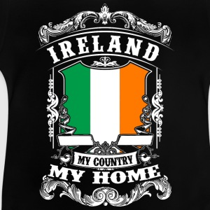 Ireland - My Country - My Home Tee shirts - T-shirt Bébé