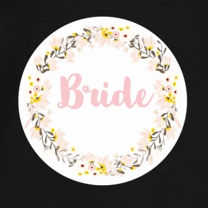 bride_wreath_flower_power Vesker & ryggsekker - Premium T-skjorte for menn