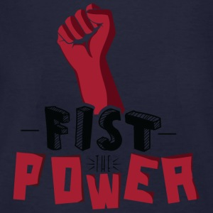 Fist The Power Sweat-shirts - T-shirt bio Homme
