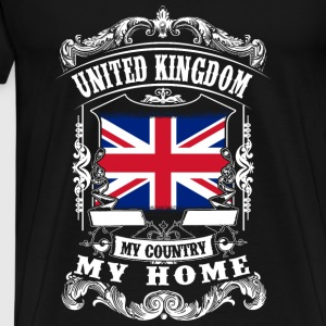 United Kingdom - My country - My home Tops - Männer Premium T-Shirt