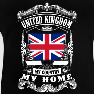 United Kingdom - My country - My home Tee shirts - T-shirt Bébé