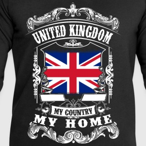 United Kingdom - My country - My home Topper - Sweatshirts for menn fra Stanley & Stella