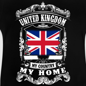 United Kingdom - My country - My home Magliette - Maglietta per neonato