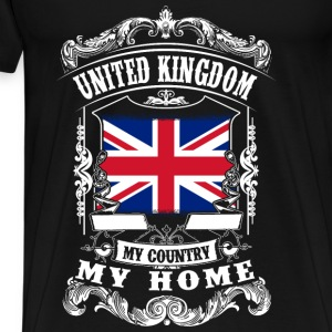 United Kingdom - My country - My home Tops - Men's Premium T-Shirt